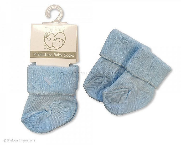 Baby Socks Premature Pink, White or Blue