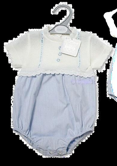 Nursery Time Boys Knitted Romper