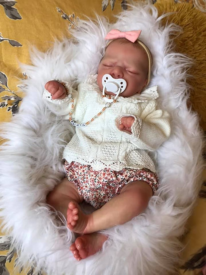 My Little Chick Knitted/Woven Baby Girls Set Floral