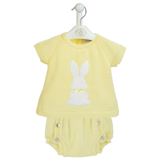 Dandelion Knitted 2 pc Bunny Set - 3 colours