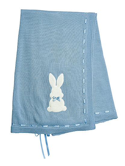 Dandelion Bunny Knitted Shawl - 3 Colours