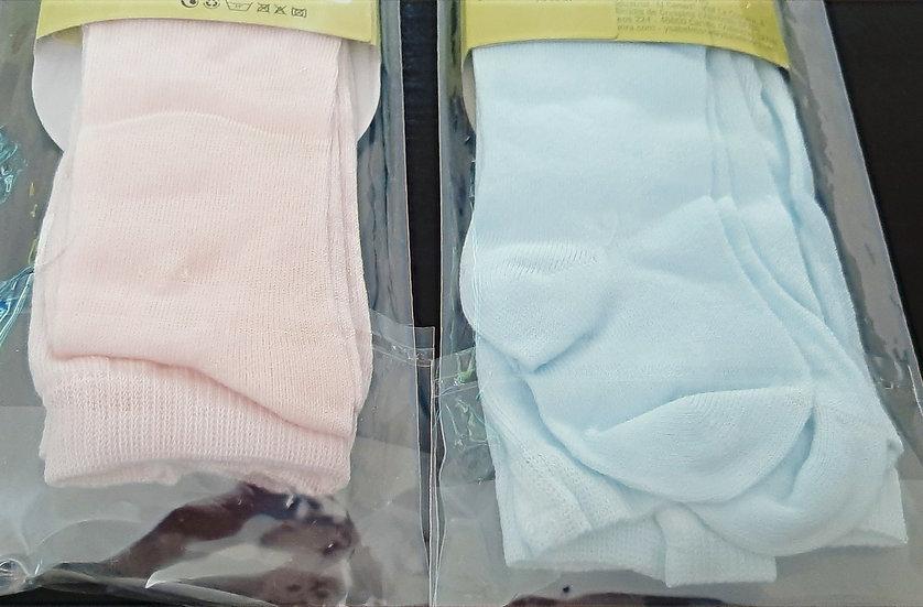 Ysabel Mora smooth knit cotton tights 12-18m