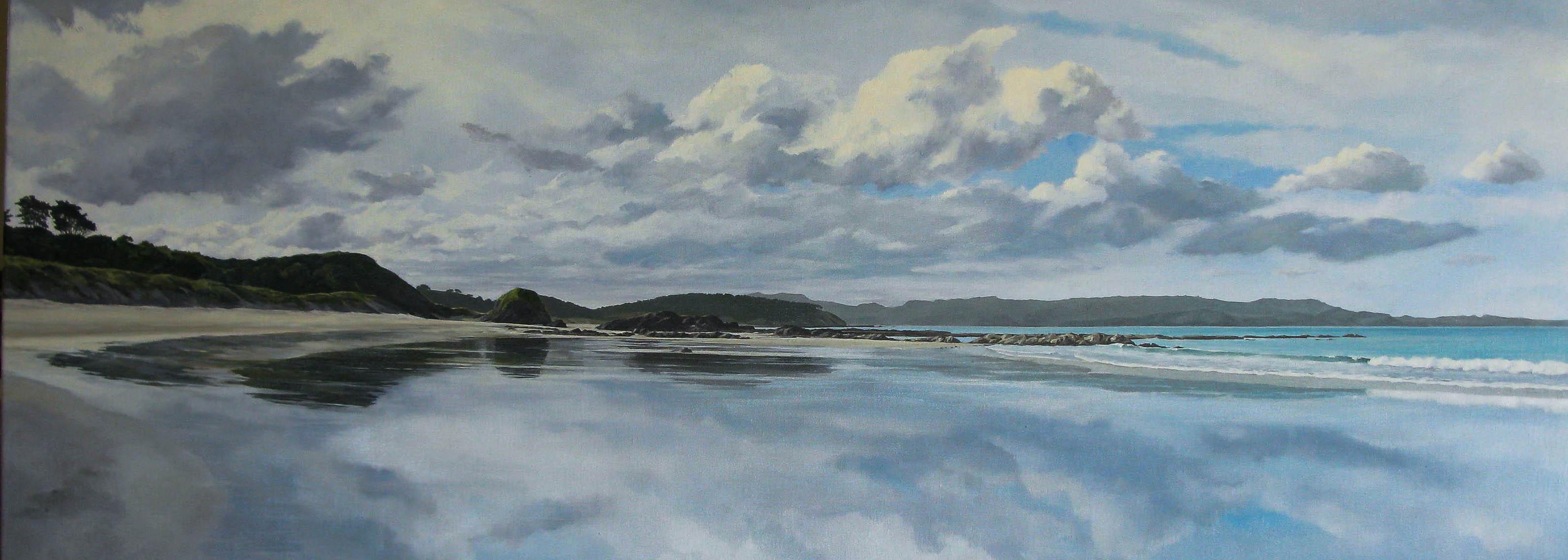 Reflections, Tauwharanui Peninsula