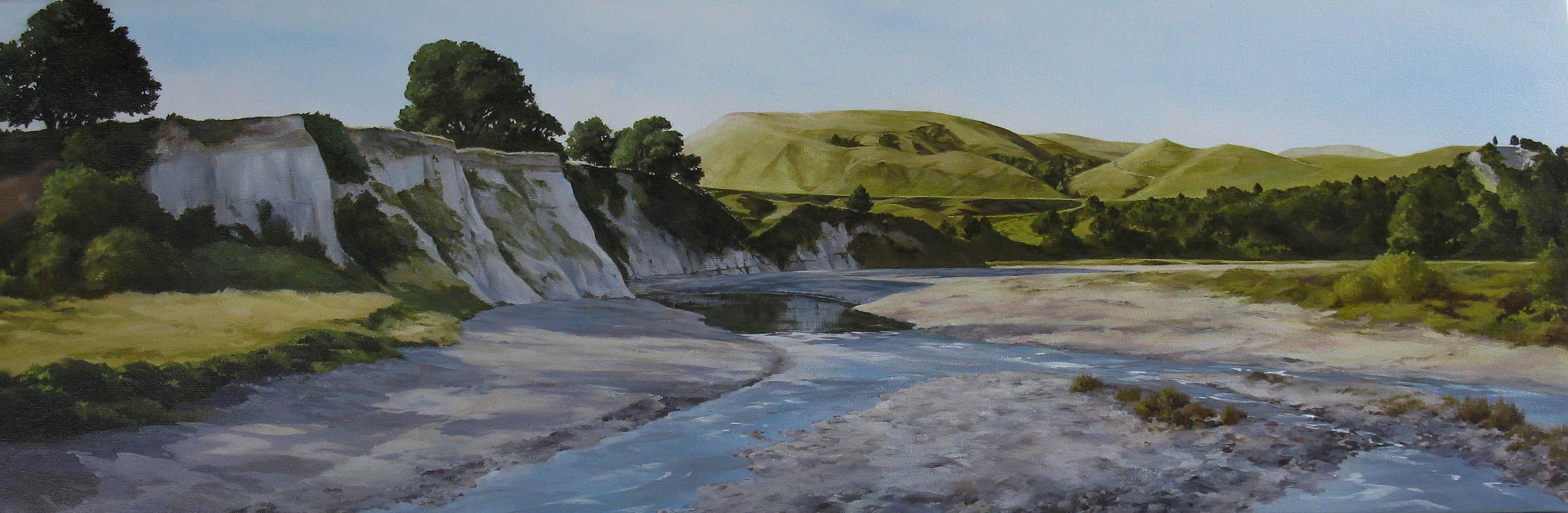 Mangahao River, North Wairarapa