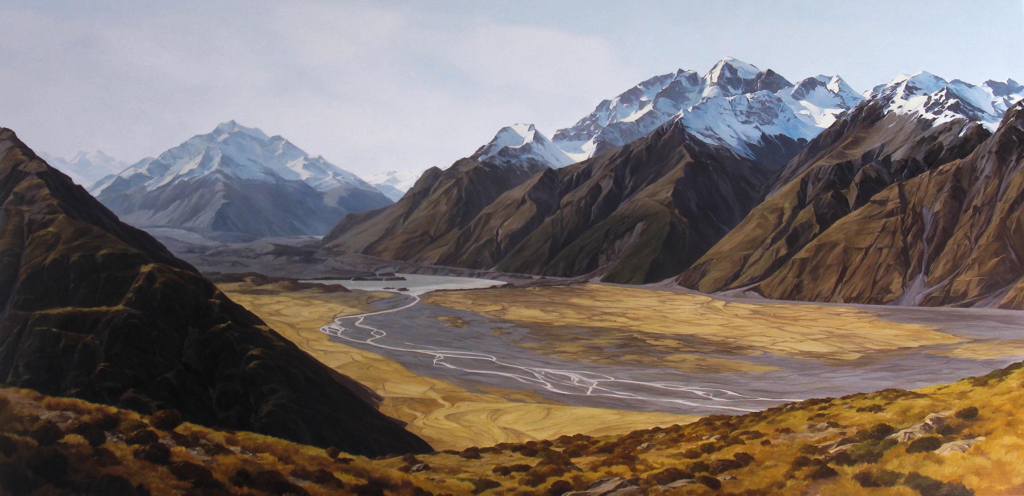 Tasman Valley, Aoraki Mount Cook
