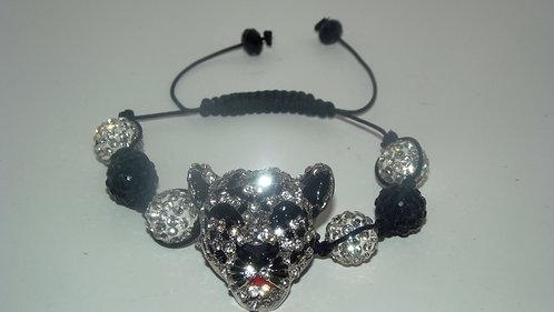 Cougar Shamballa Style Bracelet