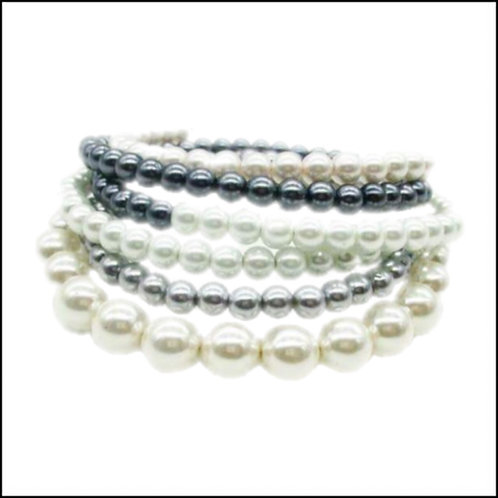Wrap Around Multi-Color Pearl Necklace