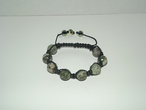 Black Shamballa Style Bracelet