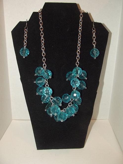Blue Necklace Set