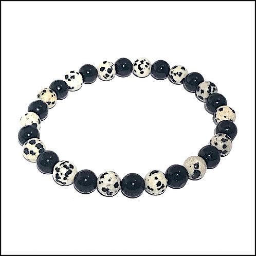 Dalmatians Jasper Bracelet