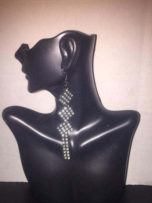 Triple diamond shape with shingles