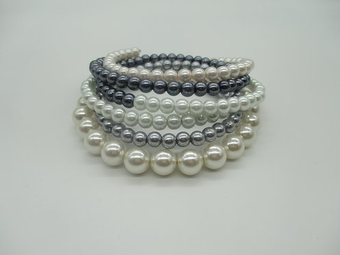 Wrap Around Pearl Necklace