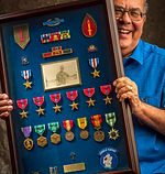 Joe's medals from Vietnam
