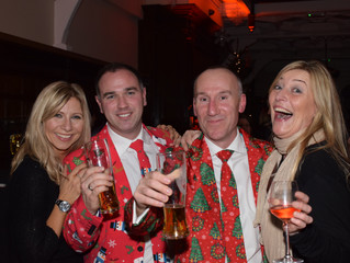 Lodge Brothers Christmas Ball at Shepperton Studios