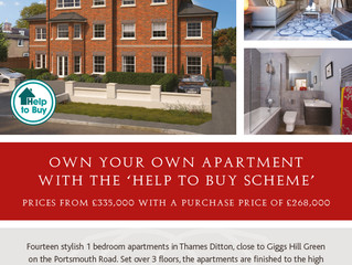 RUSHMON LAUNCH THEIR STUNNING SHOW HOME AT PORTLAND PLACE, THAMES DITTON THIS WEEKEND.
