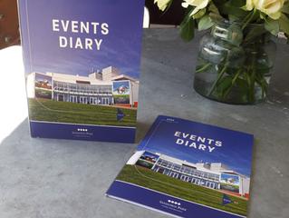 Events Diary Card for Sandown Park
