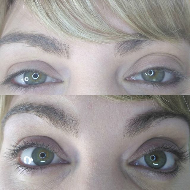 Juliettes Lash Therapy lash lift before and after