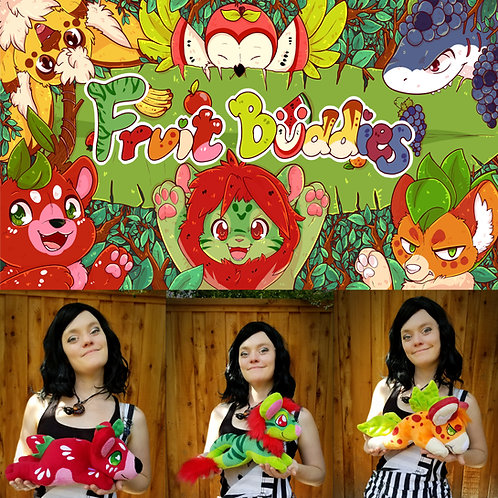 Fruitbuddies plushie