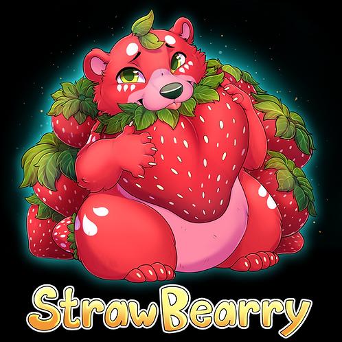 Strawbearry Pillow