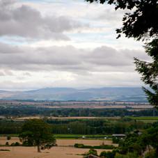 Kirkbanny across the Merse