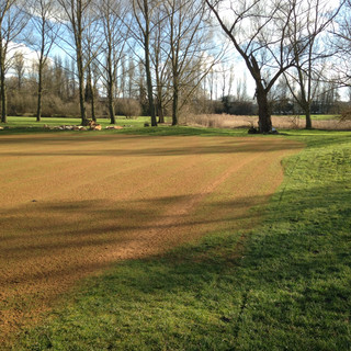 Suffolk golf and Country Club Green Top Dressing