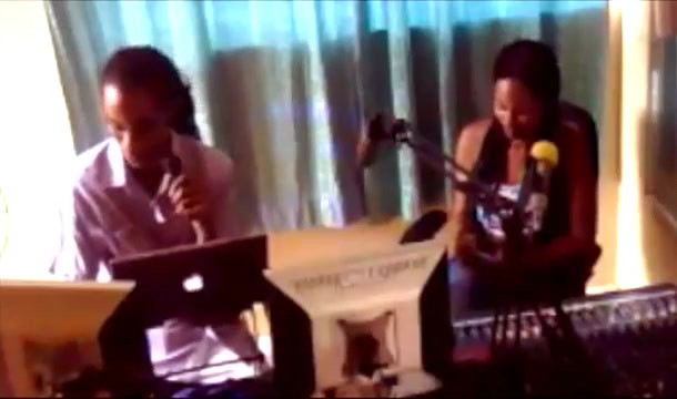 Mackiemac and Empress Faye host Flamz YoU4RIA Show at RFI