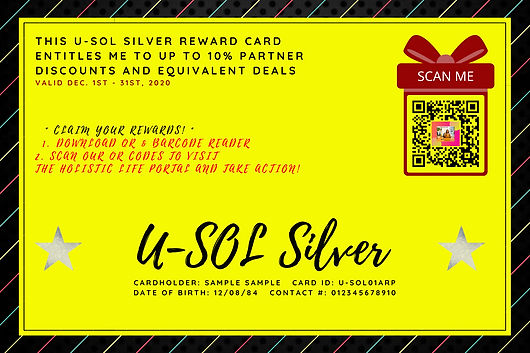 Purchase The U-SOL Silver Card!