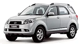 Diahatsu Terios or similar SUV