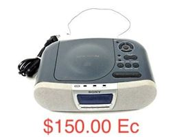 Sony Alarm Clock/CD Player (Item #4)