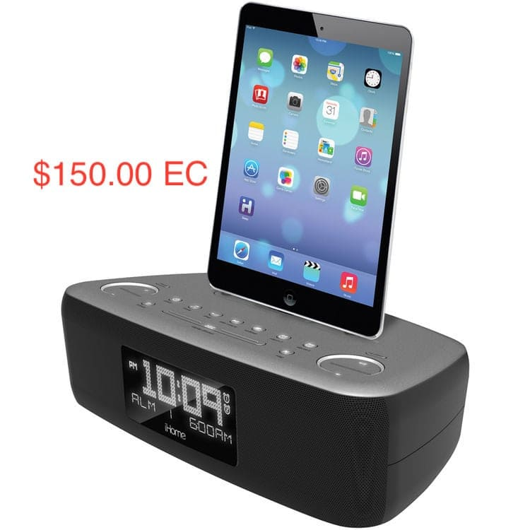 Ipad Speaker Box/ Alarm (Item # 8)