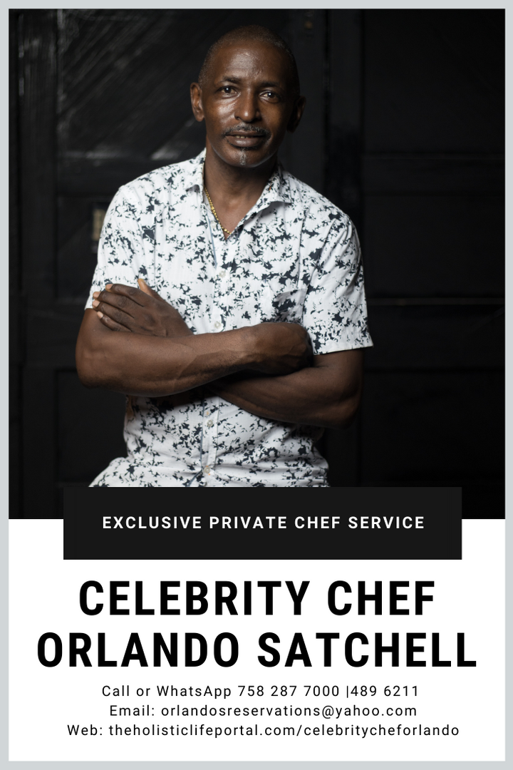 Book Celebrity chef Orlando Satchell as your Private Chef