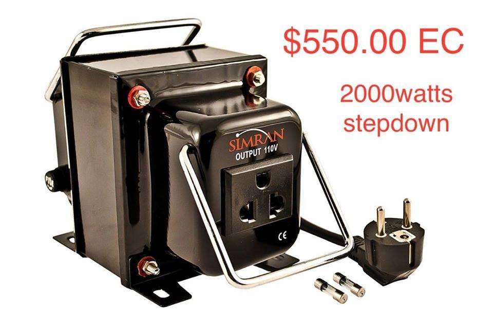 2000 Watt Transformer (Item 10)