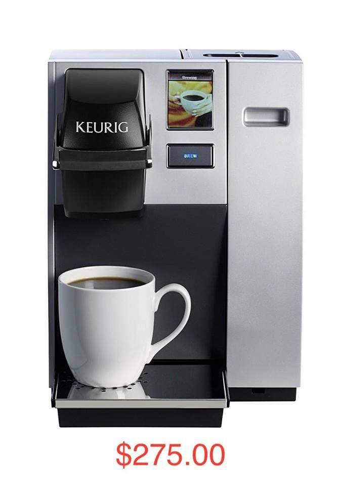 Coffee Maker (Item #6)