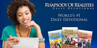 Tune in daily to Rhapsody of Realities D