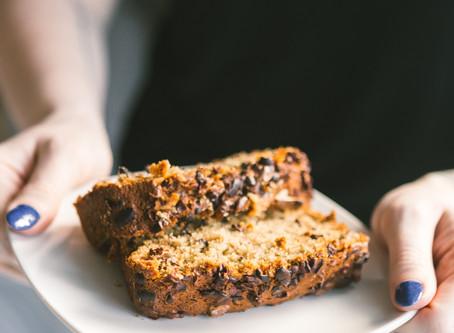 Rosemary Pear Buckwheat Bread (Gf, V)