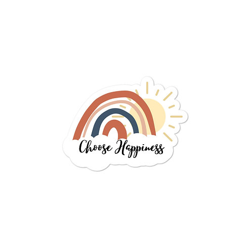 Bubble-free stickers | Choose Happiness