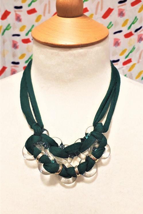 Dark Green eight necklace