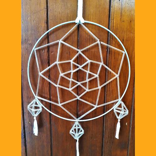 Triple Pentagonal Bipyramid Dreamcatcher