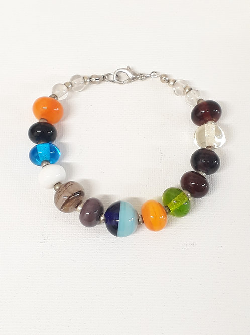 Mixed beaded bracelet