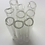 Thumbnail: Glass tube beads 7 mm - pack of 20