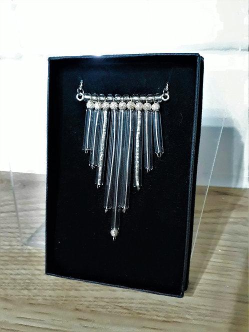 Tube pendant necklaces