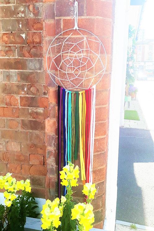 Large Rainbow Dreamcatcher