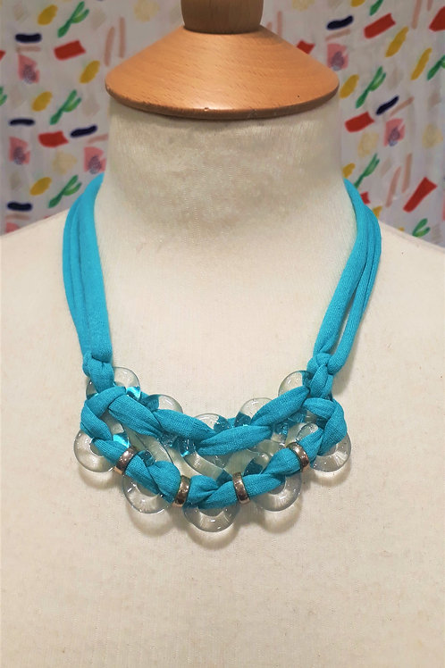 Turquoise eight necklace