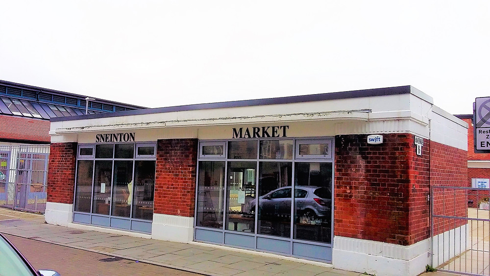 The shop at Sneinton Market, opened on 23rd November 2016