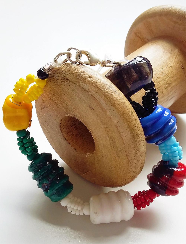 BEADED - Multicolour beaded bracelet
