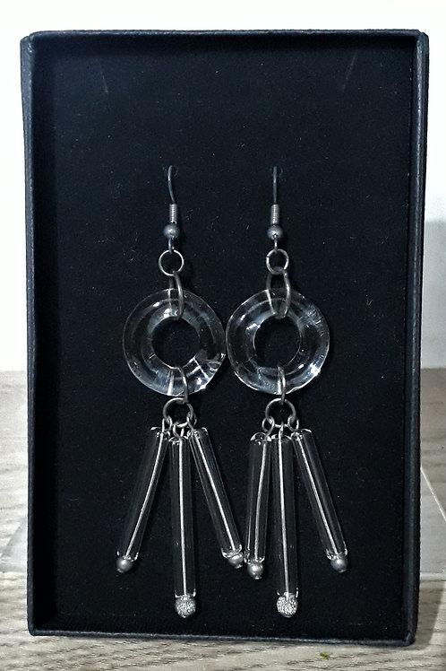 Hoop & tube earrings