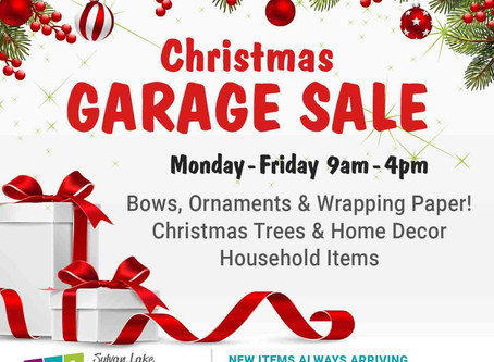 Christmas Garage Sale