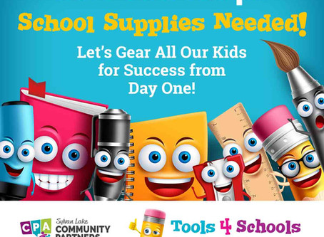 Tools 4 Schools School Supply Drive