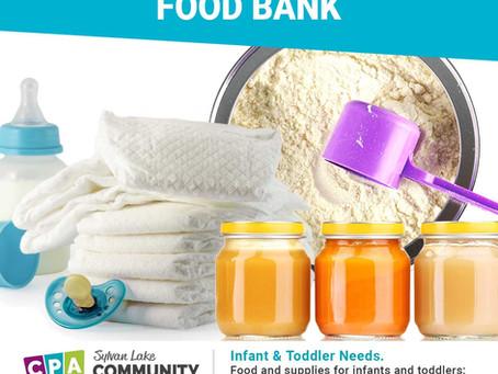 Infant Toddler Food Bank