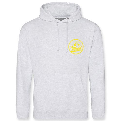Mood (Ash Grey With Yellow) Hoodie